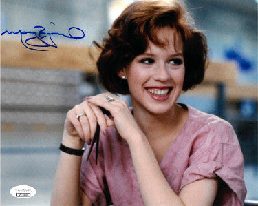 Molly Ringwald signed The Breakfast Club Claire Standish 8x10 Photo- JSA Hologram PSM-Powers Sports Memorabilia