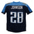 Chris Johnson Autographed Tennessee Titans Blue XL Jersey 2006 Yds JSA PSM-Powers Sports Memorabilia