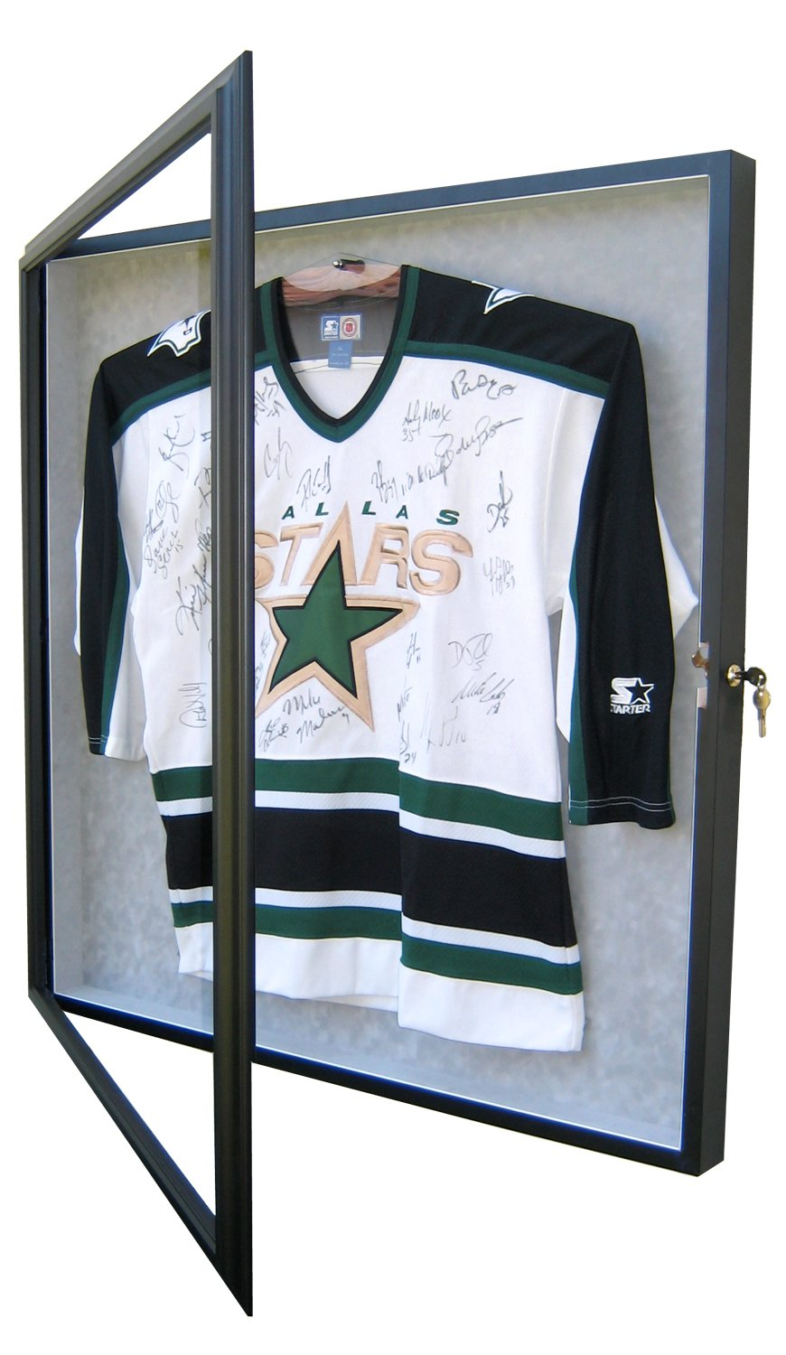 HOCKEY JERSEY DISPLAY CASE-Powers Sports Memorabilia