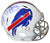 Jim Kelly Autographed Buffalo Bills Authentic Speed Helmet Kelly Tough BAS PSM-Powers Sports Memorabilia