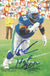 Cortez Kennedy Signed Seattle Seahawks Goal Line Art Card Blue HOF PSM-Powers Sports Memorabilia