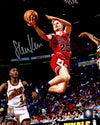 Steve Kerr Signed Chicago Bulls Lay Up Action 8x10 Photo PSM-Powers Sports Memorabilia