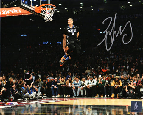 Zach LaVine Signed Minnesota Timberwolves 2016 NBA Slam Dunk Contest 8x10 Photo PSM-Powers Sports Memorabilia
