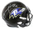 Ray Lewis Autographed Baltimore Ravens Speed Replica Helmet HOF JSA PSM-Powers Sports Memorabilia