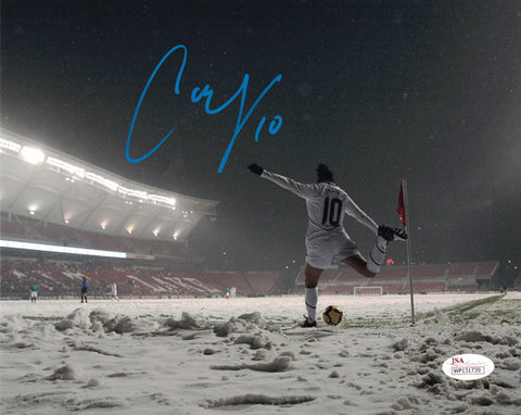 Carli Lloyd Autographed USA Soccer 8x10 Photo PSM-Powers Sports Memorabilia