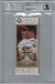 Greg Maddux Autographed 2014 Hall Of Fame Induction Ticket HOF BAS Slab PSM-Powers Sports Memorabilia