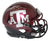 Johnny Manziel Autographed Texas A&M Aggies 2 Tone Mini Helmet HT BAS PSM-Powers Sports Memorabilia