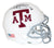 Johnny Manziel Autographed Texas A&M Aggies White Schutt Mini Helmet HT BAS PSM-Powers Sports Memorabilia