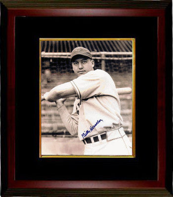 Billy Herman signed Chicago Cubs 8x10 Vintage Sepia Photo Custom Framed (deceased) PSM-Powers Sports Memorabilia