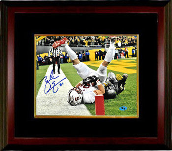Zach Ertz signed Stanford Cardinal 8x10 Photo #86 Custom Framing - JSA Hologram (TD Catch) PSM-Powers Sports Memorabilia