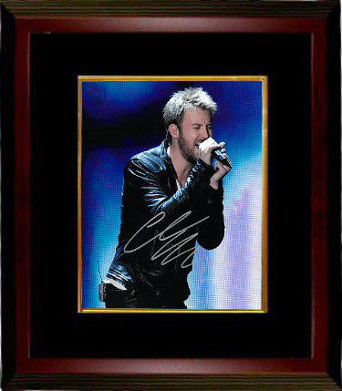 Charles Kelley signed Lady Antebellum 8x10 Photo Custom Framed (silver sig)- PSA/JSA/BAS Guaranteed To Pass PSM-Powers Sports Memorabilia