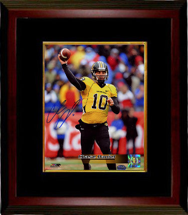 Chase Daniel signed Missouri Tigers 8x10 Photo Custom Framing #10 (gold jersey)- Daniel-GTSM Hologram PSM-Powers Sports Memorabilia