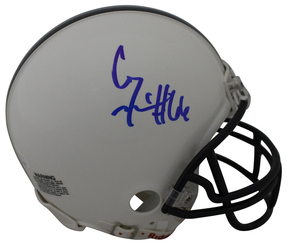 Connor McGovern Autographed Penn State Nittany Lions Mini Helmet JSA PSM-Powers Sports Memorabilia