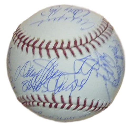 1986 New York Mets Autographed OML baseball JSA PSM-Powers Sports Memorabilia
