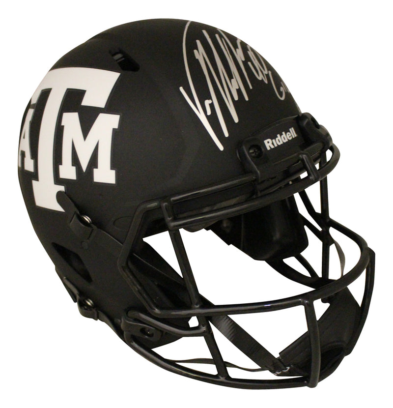 Von Miller Signed Texas A&M Aggies Authentic Eclipse Helmet Gig Em JSA PSM-Powers Sports Memorabilia