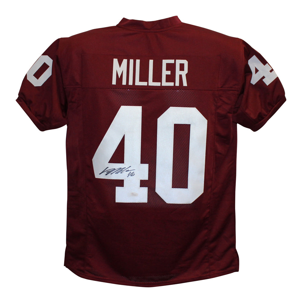 Von Miller Autographed Texas A&M Aggies Custom Size XL Maroon Jersey JSA PSM-Powers Sports Memorabilia