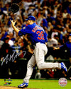 Mike Montgomery Signed Chicago Cubs 2016 World Series Celebration 8x10 Photo PSM-Powers Sports Memorabilia