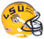 Thaddeus Moss Signed LSU Tigers Yellow Mini Helmet National Champs BAS PSM-Powers Sports Memorabilia