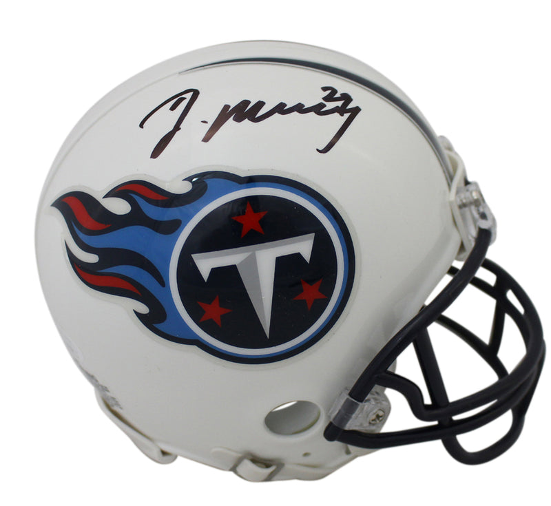 Demarco Murray Autographed Tennessee Titans Mini Helmet JSA PSM-Powers Sports Memorabilia