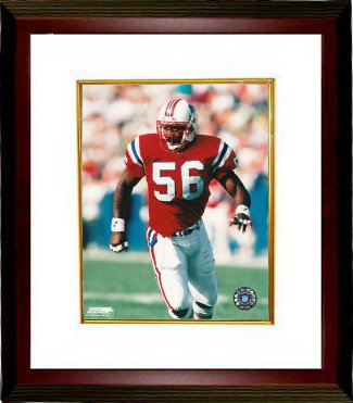 Andre Tippett unsigned New England Patriots 8x10 Photo Custom Framed PSM-Powers Sports Memorabilia