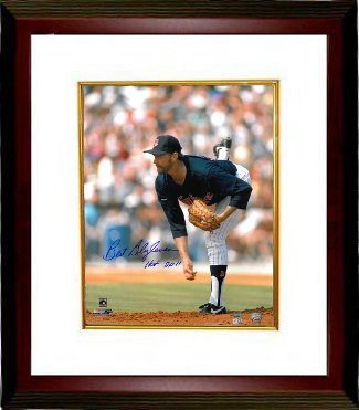 Bert Blyleven signed Minnesota Twins 16x20 Photo HOF 2011 Custom Framed- MLB Hologram PSM