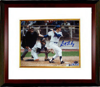Art Shamsky signed New York Mets 8x10 Photo Custom Framed (1969 Mets)- Steiner Hologram PSM
