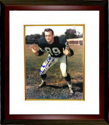 Gino Marchetti signed Baltimore Colts 8x10 Photo Custom Framed HOF 72 PSM-Powers Sports Memorabilia