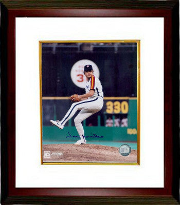 Joe Niekro signed Houston Astros 8x10 Photo Custom Framed (deceased) PSM-Powers Sports Memorabilia