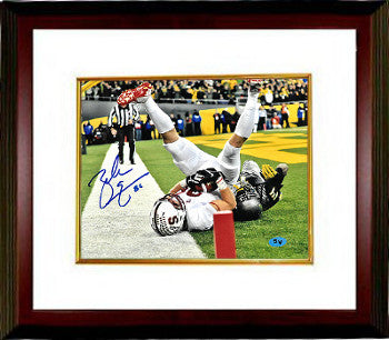 Zach Ertz signed Stanford Cardinal 8x10 Photo #86 Custom Framed (TD Catch) PSM-Powers Sports Memorabilia