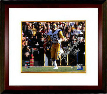 Jack Youngblood signed Los Angeles Rams 8x10 Photo Custom Framed HOF 01 (Super Bowl XIV) PSM-Powers Sports Memorabilia
