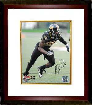 Aldon Smith signed Missouri Tigers 8x10 Photo Custom Framing PSM-Powers Sports Memorabilia