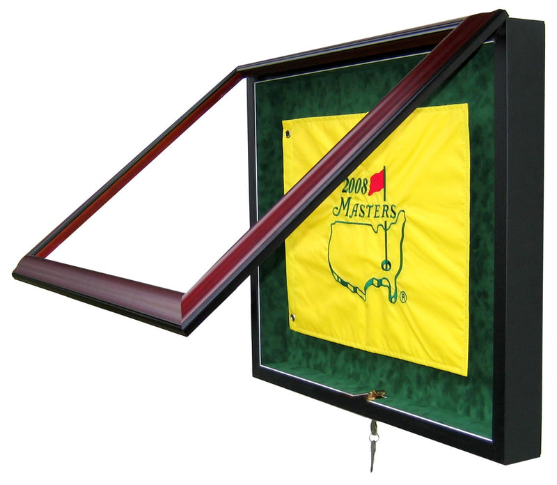 GOLF FLAG DISPLAY CASE-Powers Sports Memorabilia
