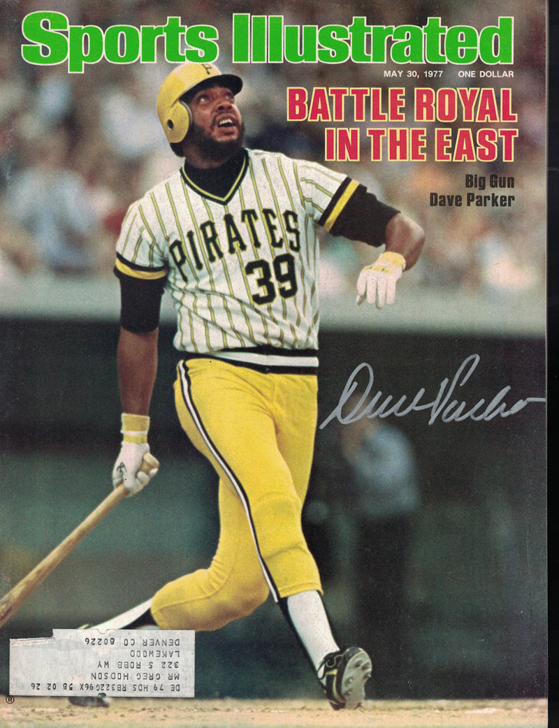 Dave Parker Signed Pittsburgh Pirates Sports Illustrated Mag 5/30/77 BAS PSM-Powers Sports Memorabilia