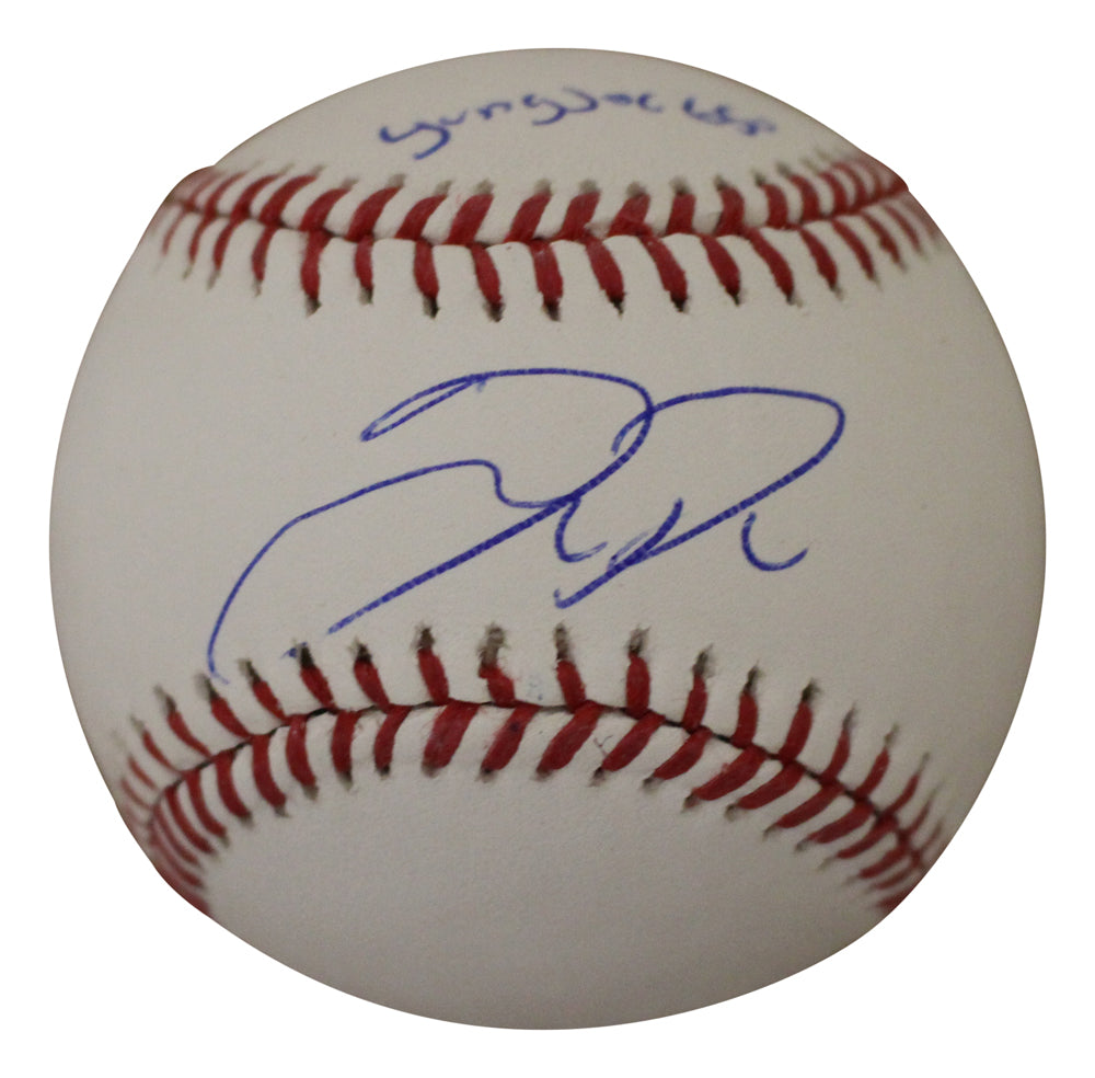 Joc Pederson Autographed Los Angeles Dodgers OML Baseball Young Joc BAS PSM-Powers Sports Memorabilia