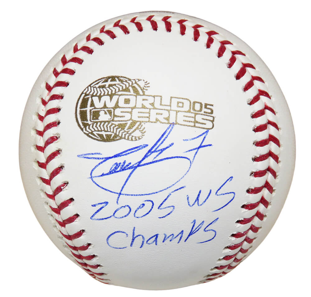 Timo Perez Signed Rawlings Official 2005 World Series (Chicago White Sox) Baseball w/05 WS Champs PSM-Powers Sports Memorabilia