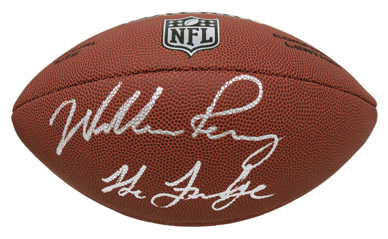 "William Perry Signed Wilson Limited Full Size NFL Football w/""The Fridge"" PSM-Powers Sports Memorabilia"