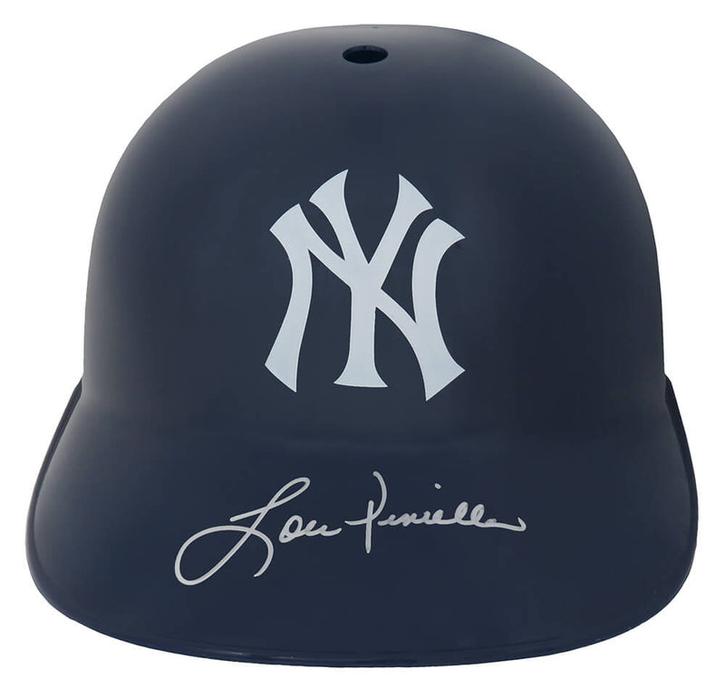 Lou Piniella Signed New York Yankees Replica Souvenir Batting Helmet PSM-Powers Sports Memorabilia