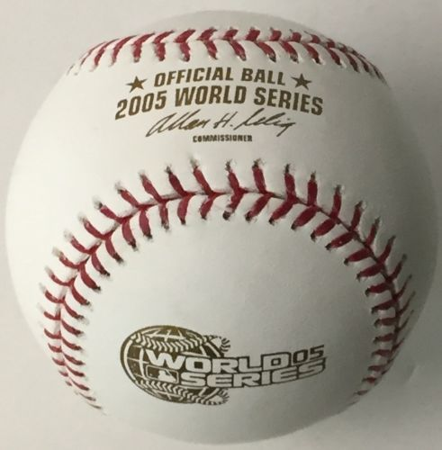 Rawlings Official 2005 World Series Baseball-Powers Sports Memorabilia
