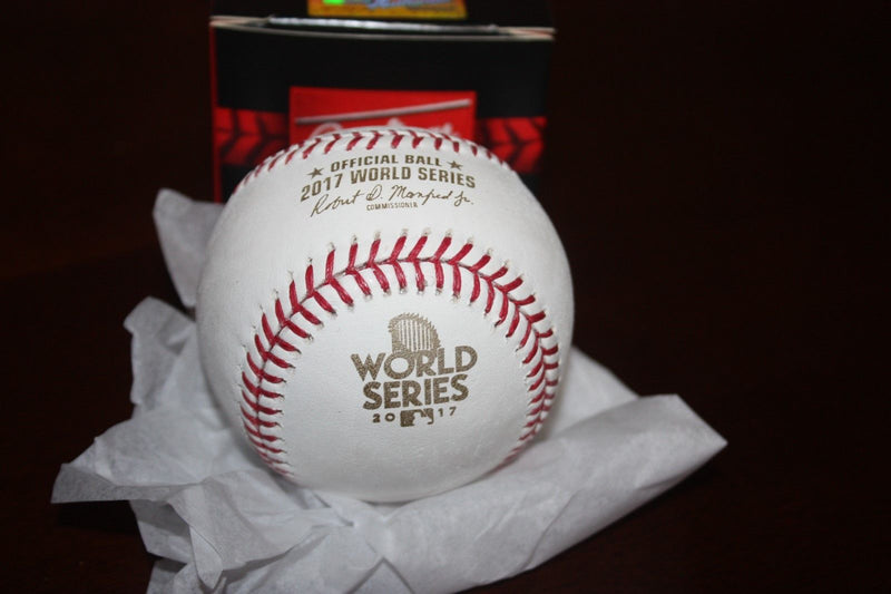 Rawlings Official 2017 World Series Baseball PSM-Powers Sports Memorabilia