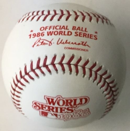 Rawlings Official 1986 World Series Baseball PSM