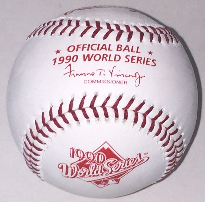 Rawlings Official 1990 World Series Baseball PSM