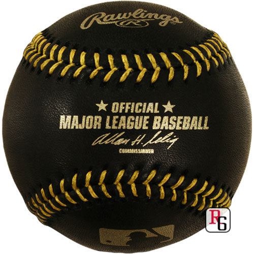 Rawlings Official Black Major League Baseball PSM-Powers Sports Memorabilia