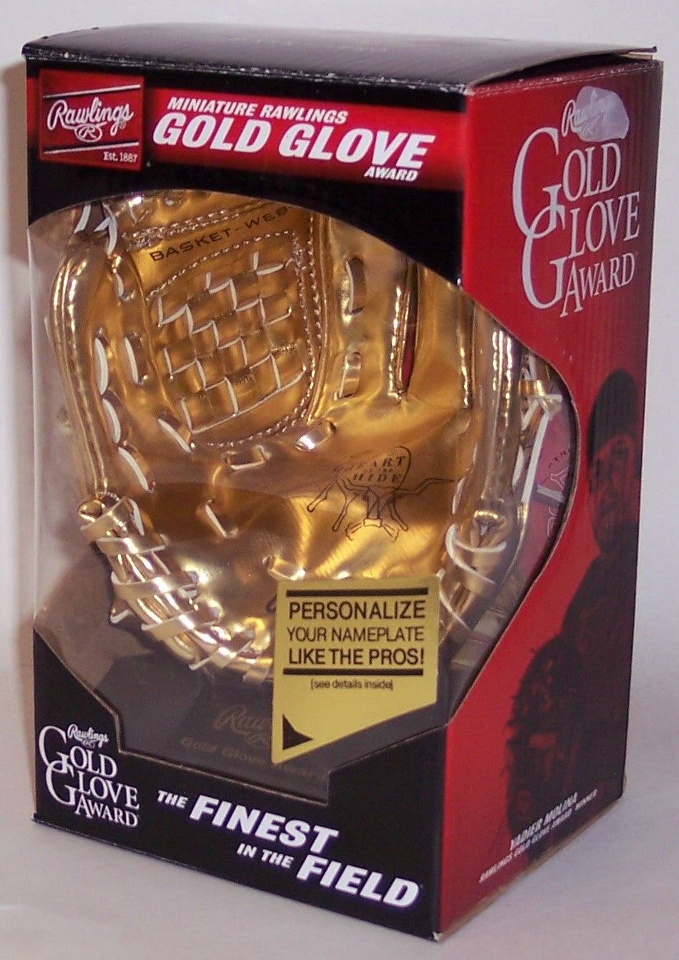 Rawlings Mini Gold Glove Mitt - 6 inches PSM-Powers Sports Memorabilia