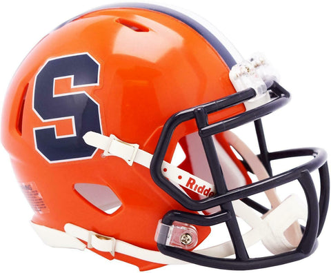 Syracuse Orangemen Riddell Speed Mini Football Helmet PSM