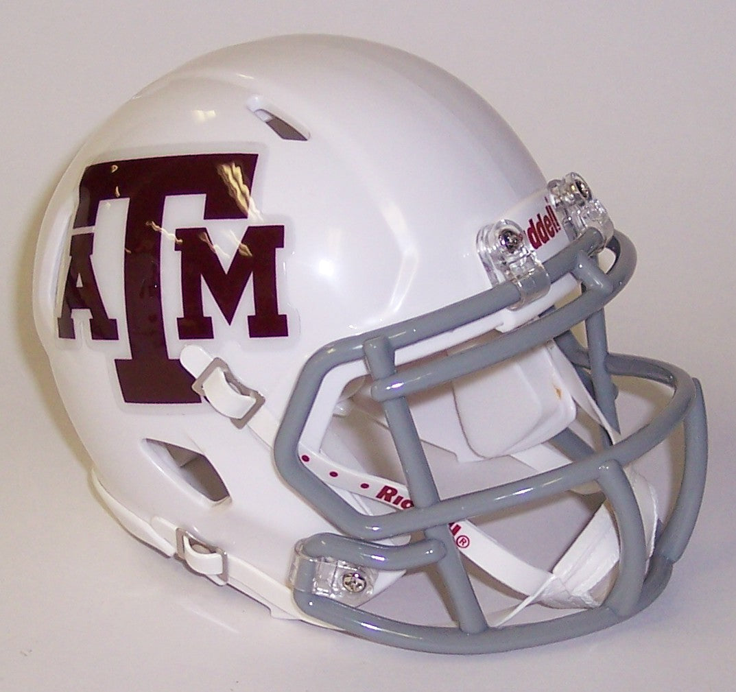 Texas A&M Aggies Riddell Speed Mini Football Helmet PSM-Powers Sports Memorabilia