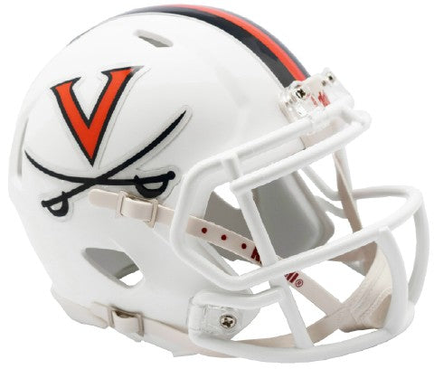 Virginia Cavaliers Riddell Speed Mini Football Helmet PSM-Powers Sports Memorabilia