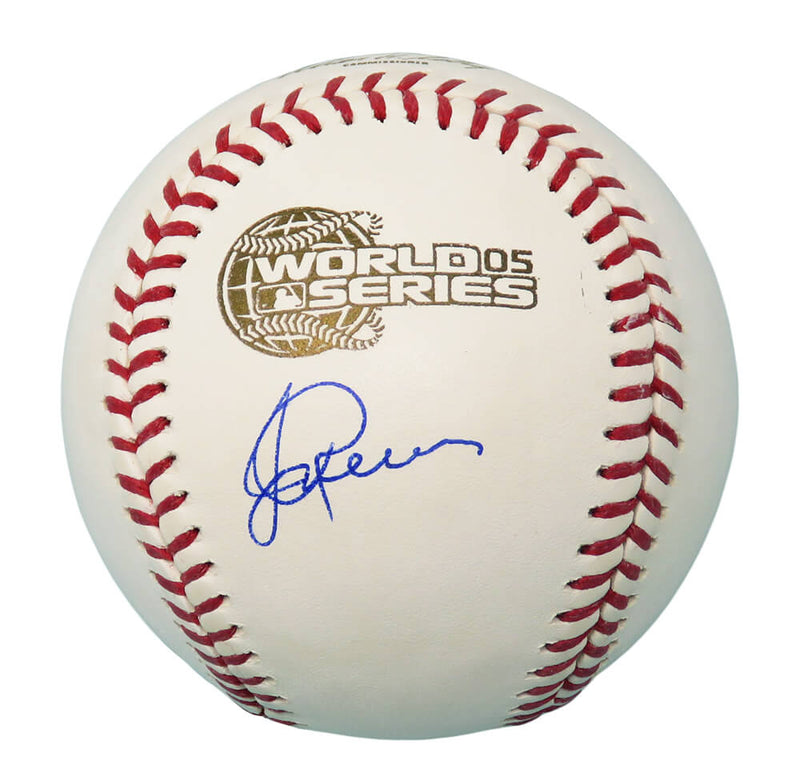 Jerry Reinsdorf Signed Rawlings Official 2005 World Series (Chicago White Sox) Baseball PSM-Powers Sports Memorabilia