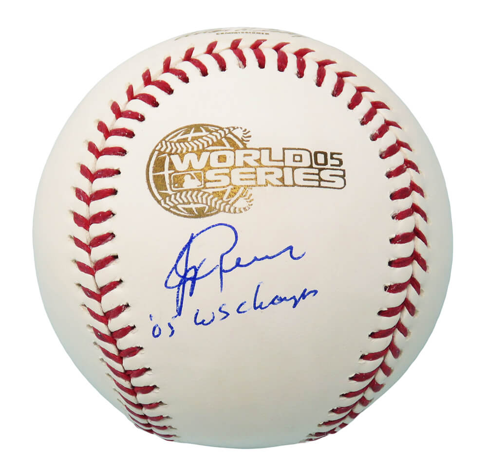 Jerry Reinsdorf Signed Rawlings Official 2005 World Series (Chicago White Sox) Baseball w/05 WS Champs PSM-Powers Sports Memorabilia