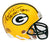 Andre Rison Signed Full Signature Green Bay Packers Riddell Mini Helmet w/SB XXXI Champs PSM-Powers Sports Memorabilia