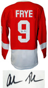 Alan Ruck Signed Ferris Bueller's Day Off Red Detroit Cameron Frye Hockey Jersey PSM-Powers Sports Memorabilia